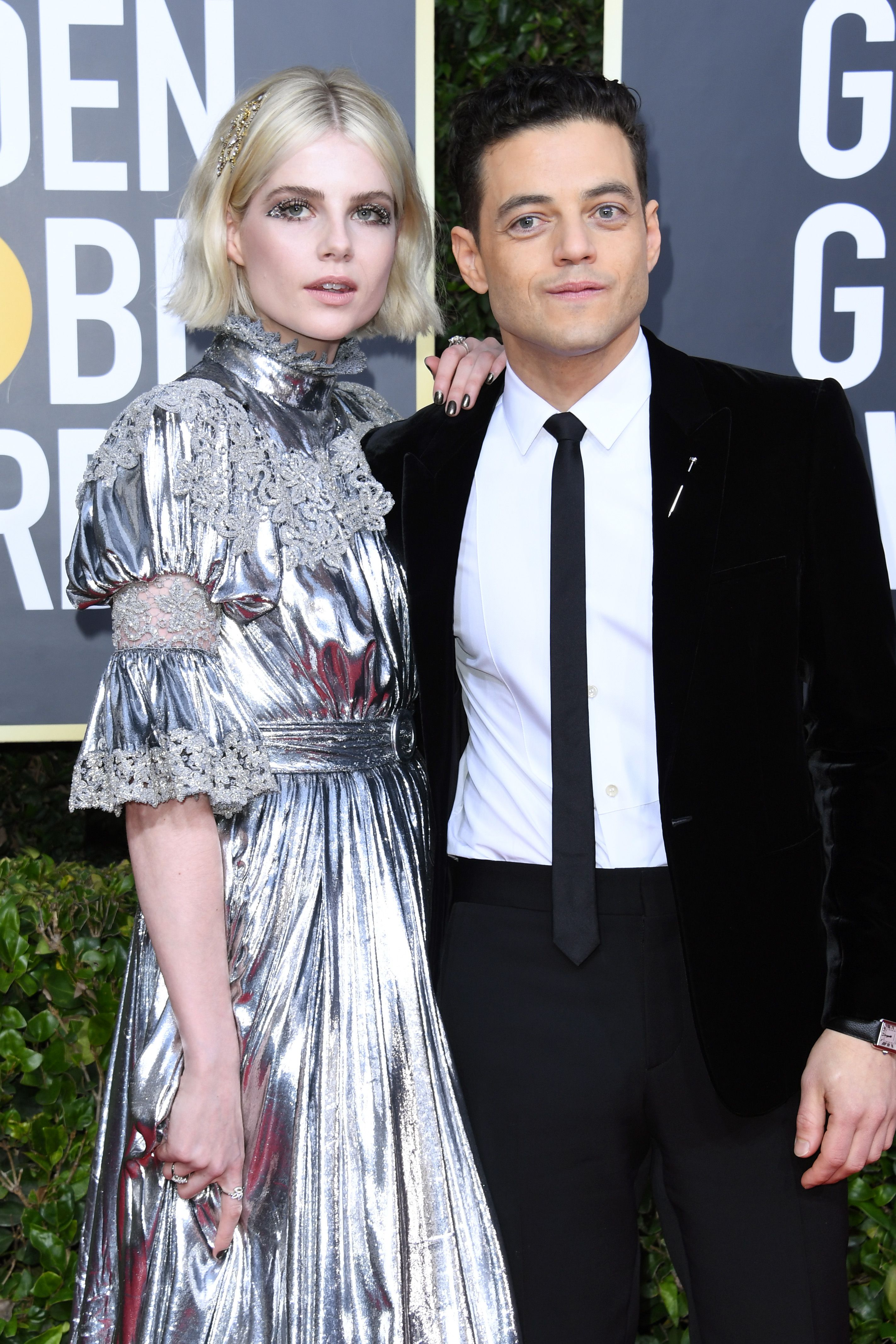 Hell is empty and all the demons are here... {End} Lucy-boynton-and-rami-malek-attend-the-77th-annual-golden-news-photo-1578270879