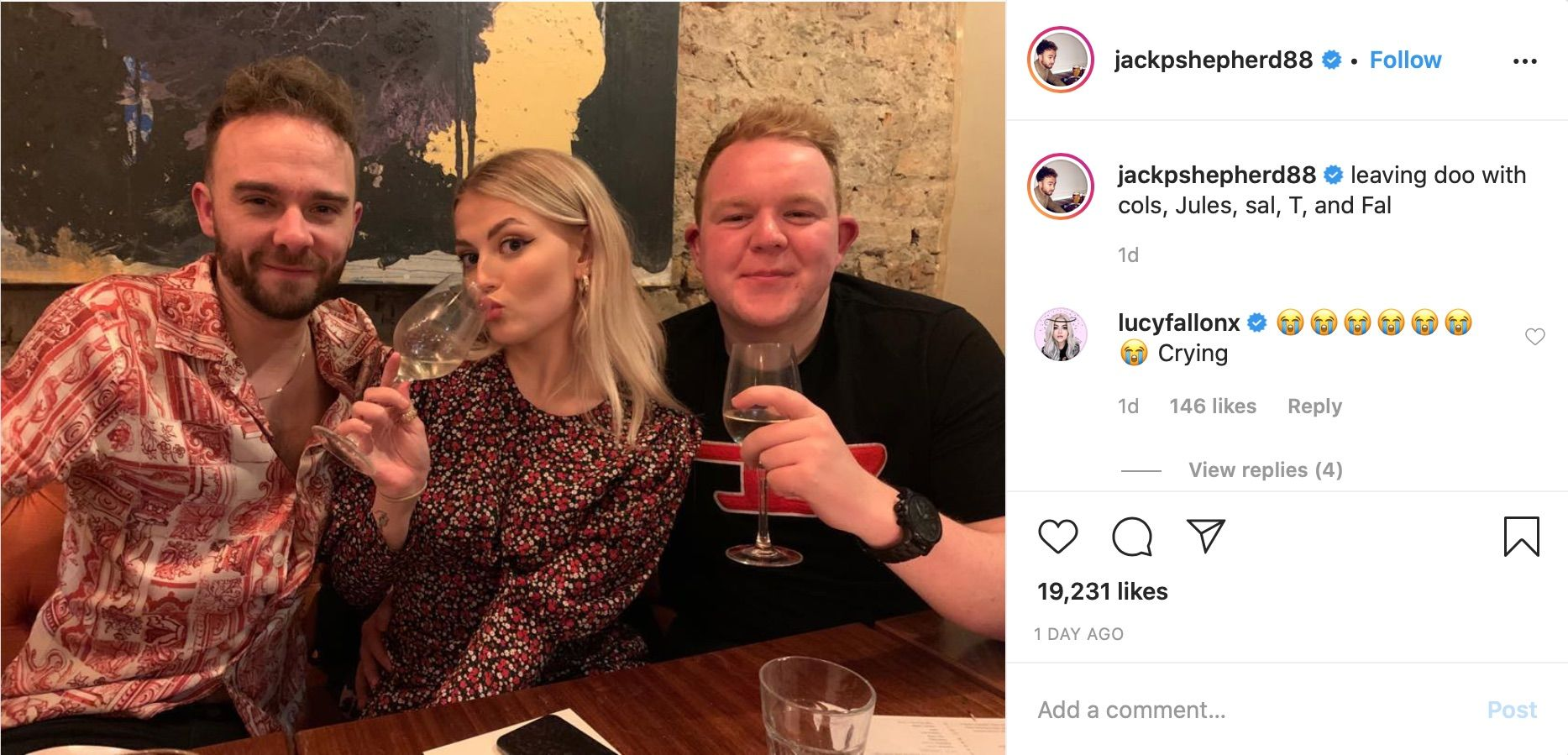 """Coronation Street star Lucy Fallon """"crying"""" as she celebrates leaving do with castmates"""