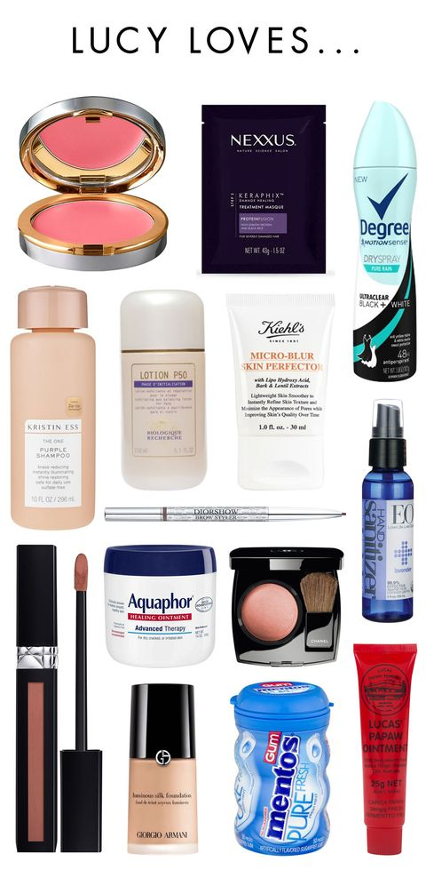 Lucy Hales Beauty Products