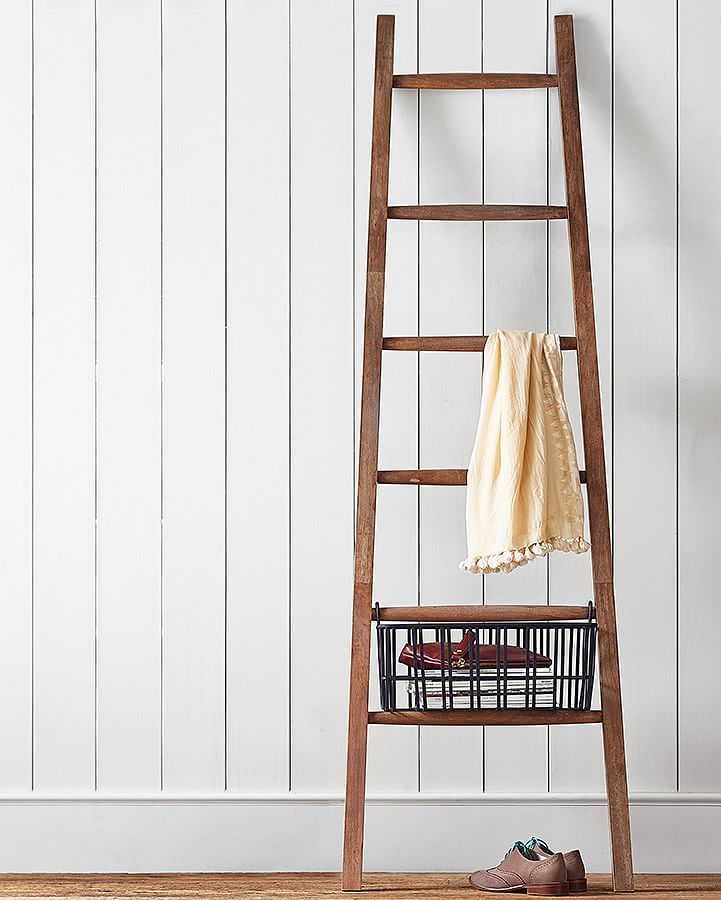lucy leaning ladder