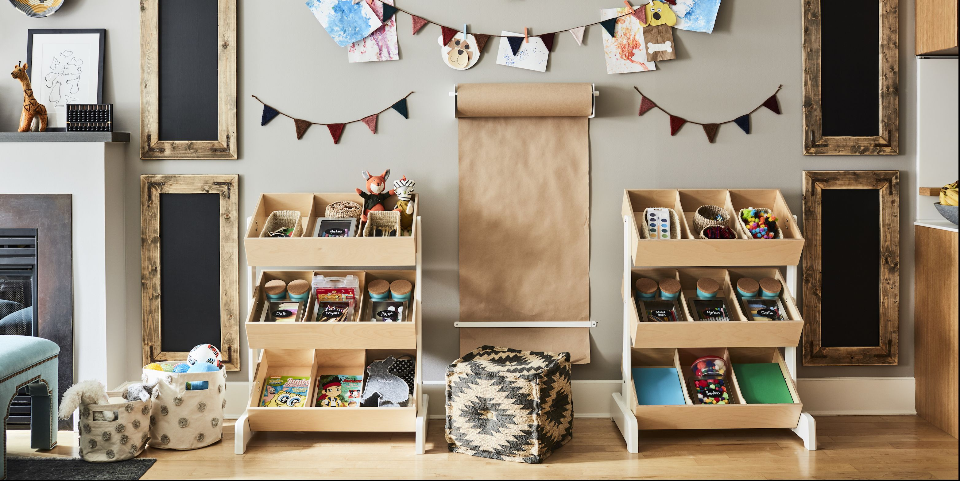 30+ Ways to Hide Toys and Clutter in Your Home