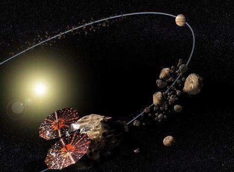 swri lucy asteroids