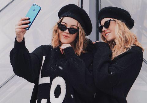 Eyewear, Street fashion, Selfie, Sunglasses, Cool, Fashion, Photography, Glasses, Lip, Blond,