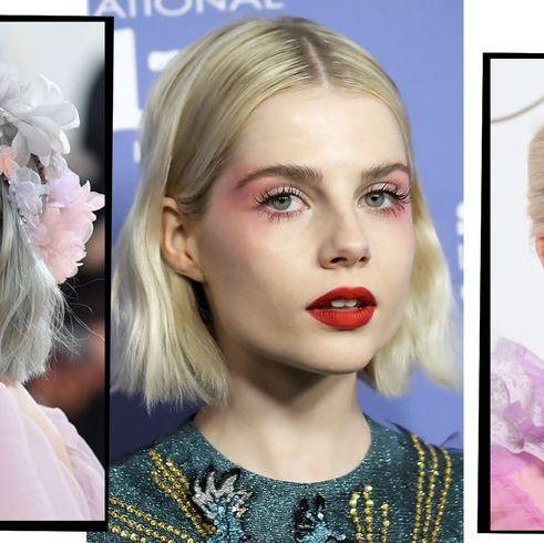 e4ae3d851eb 15 Times Lucy Boynton Gave Us High Fashion Make-Up Inspo
