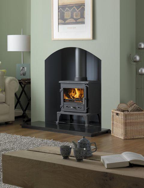 firefox 8 multifuel stove, ludlow stoves ltd