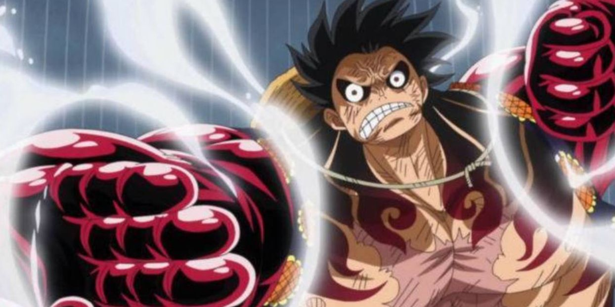 luffy nueva transformacion anime snakeman one piece