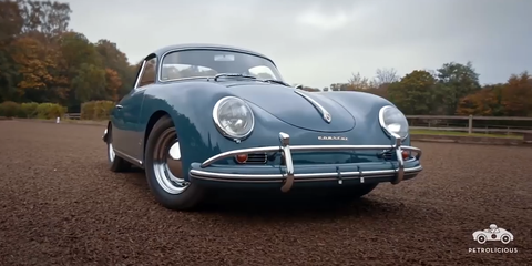 A Porsche 356a 1600 Super Is Exactly That Super