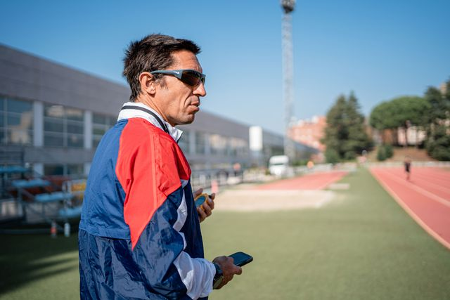 el exatleta español luismi berlanas