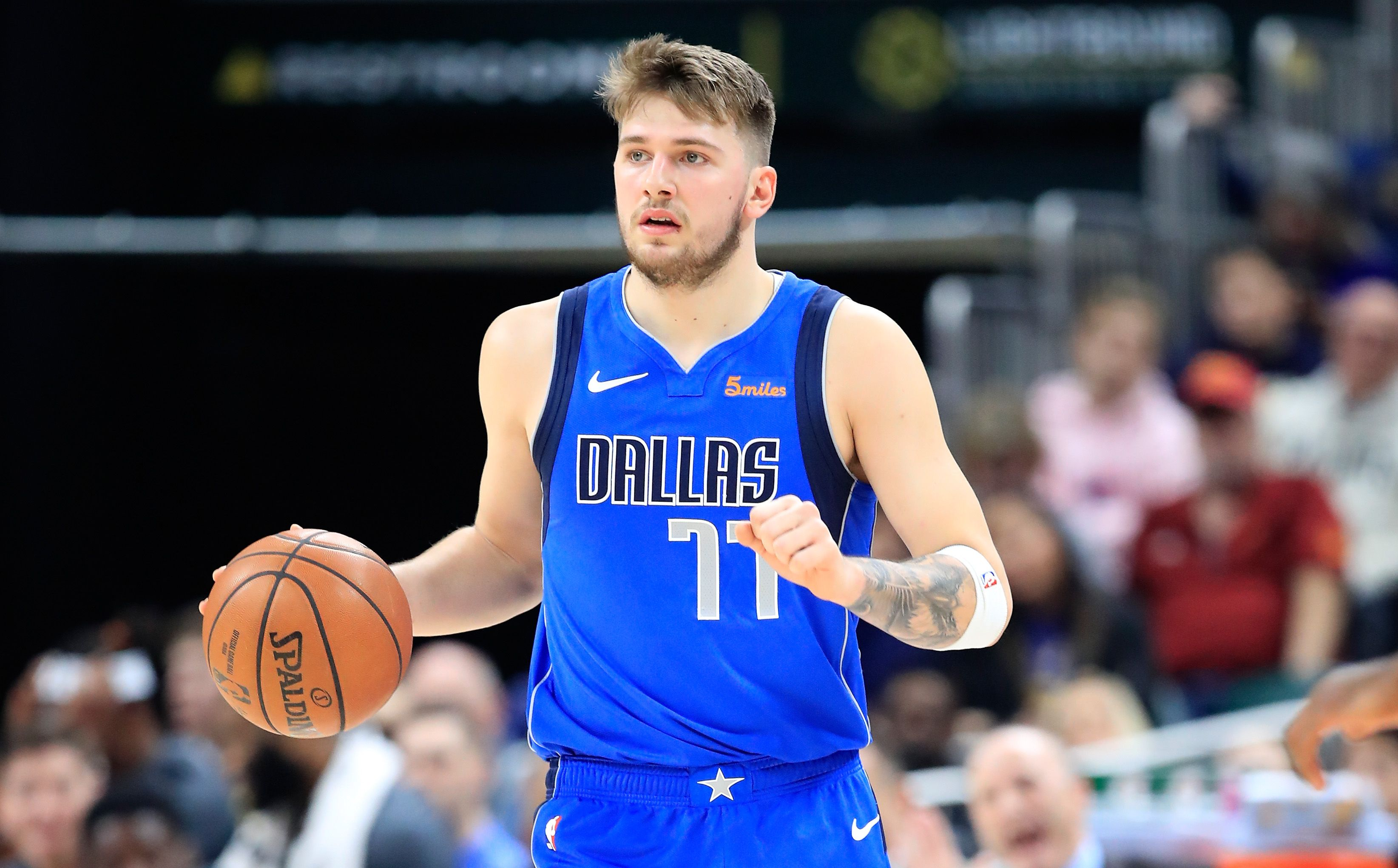 Luka Doncic Is Keeping the Six-Pack Abs Promise He Made to Mark Cuban