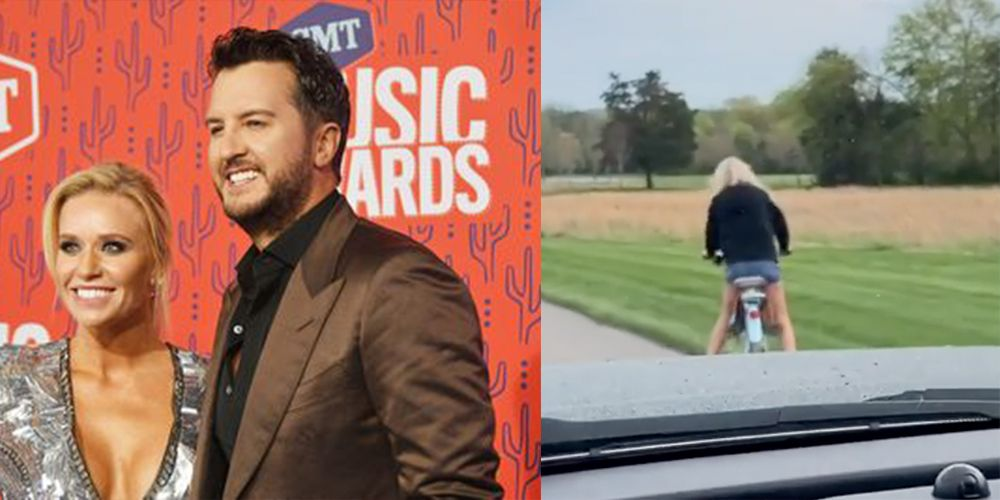 Fans Are Divided Over the Prank Luke Bryan Played on His Wife Yesterday
