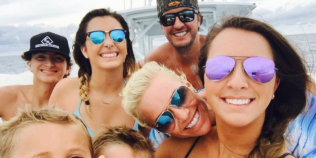 Luke Bryan and Caroline Boyer Have the Sweetest Bond With Their Five Kids - countryliving.com