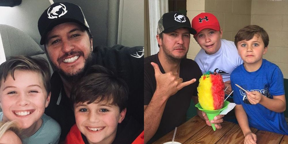 What to Know About Luke Bryan's Kids and Family - How Many