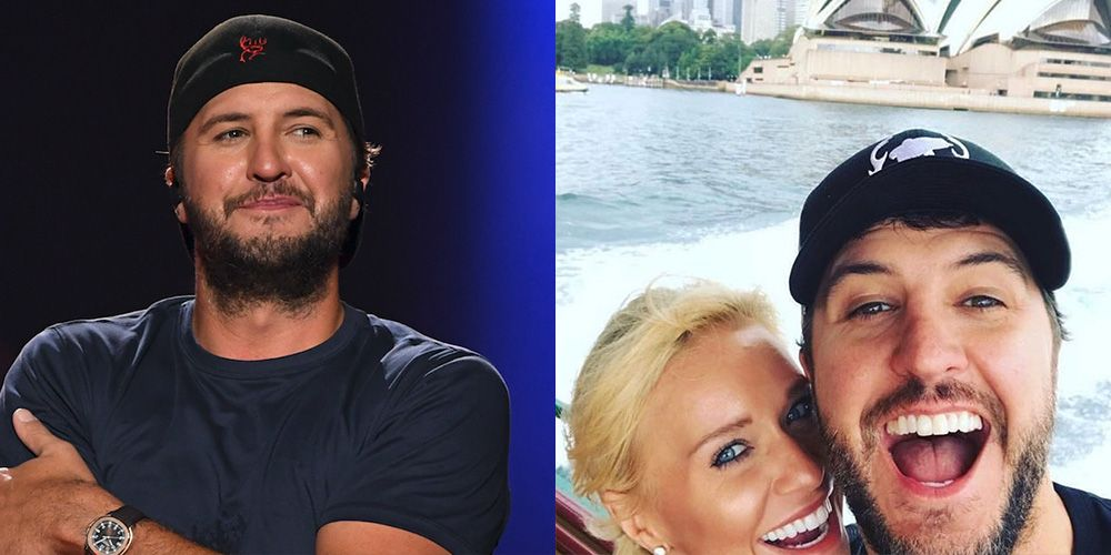 Luke Bryan Just Left the Cheekiest Comment on His Wife Caroline Boyer's Instagram