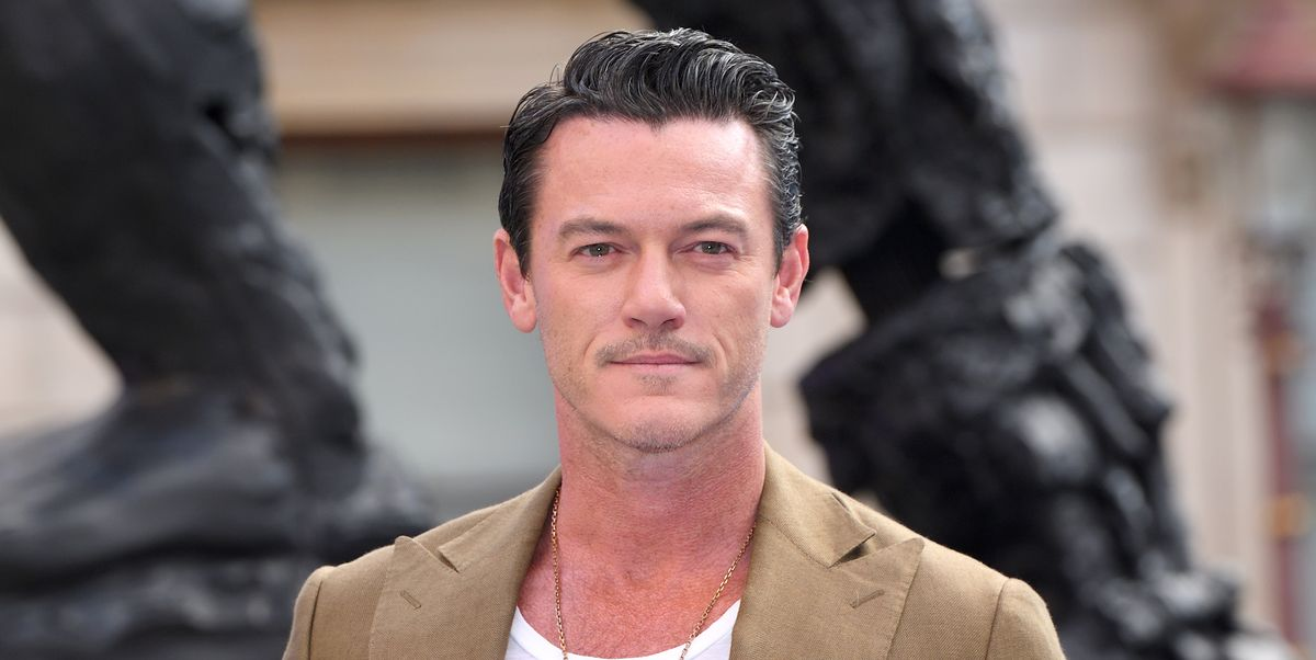 Luke Evans Showed His ...