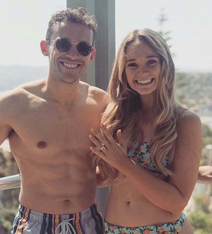 Hollyoaks couple Luke Jerdy and Daisy Wood-Davis announce their engagement
