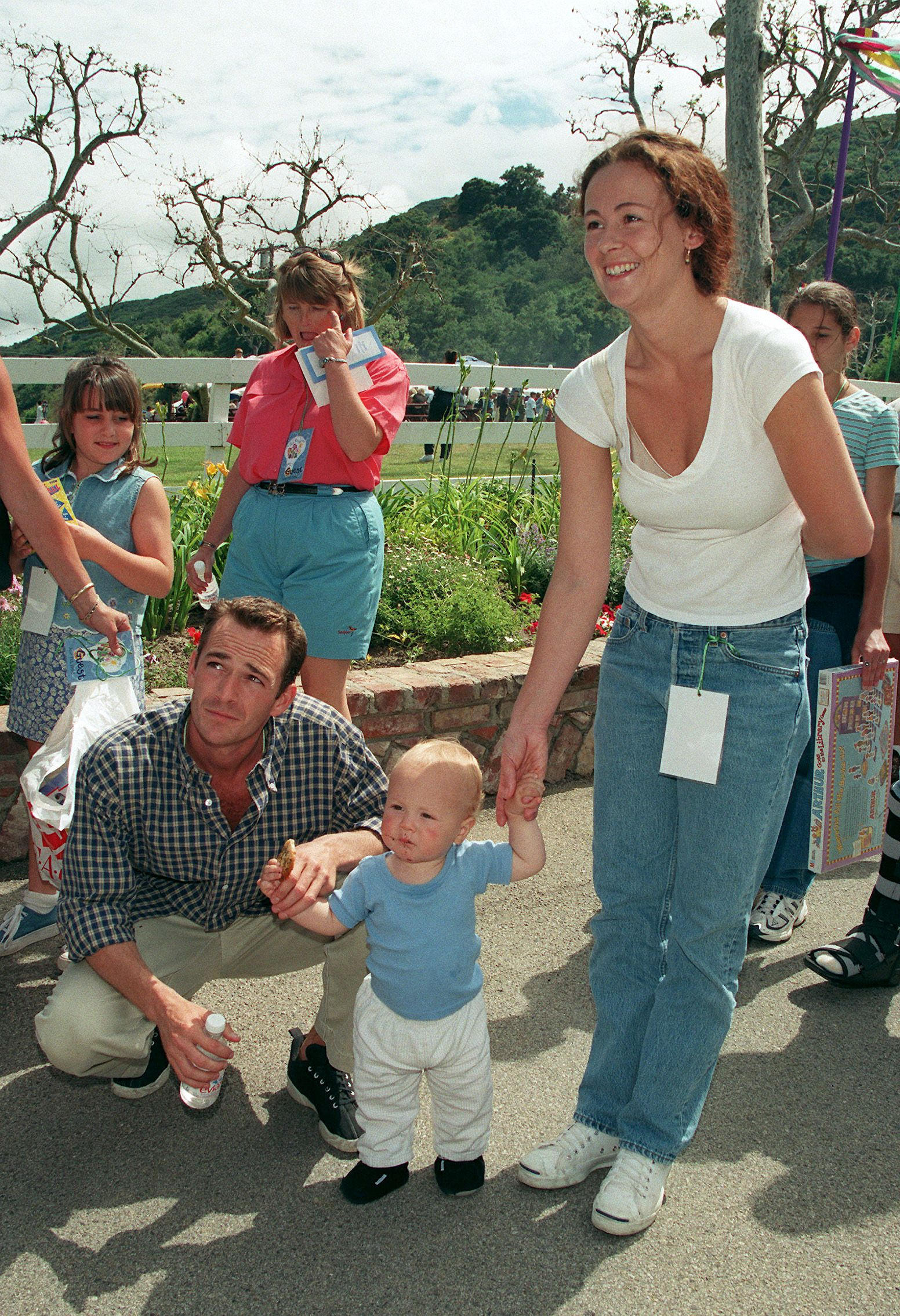 Luke Perry And His Son Look Like Twins Jack Perry Is