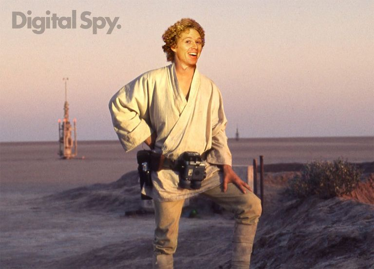 Luke Skywalker: William Katt star wars