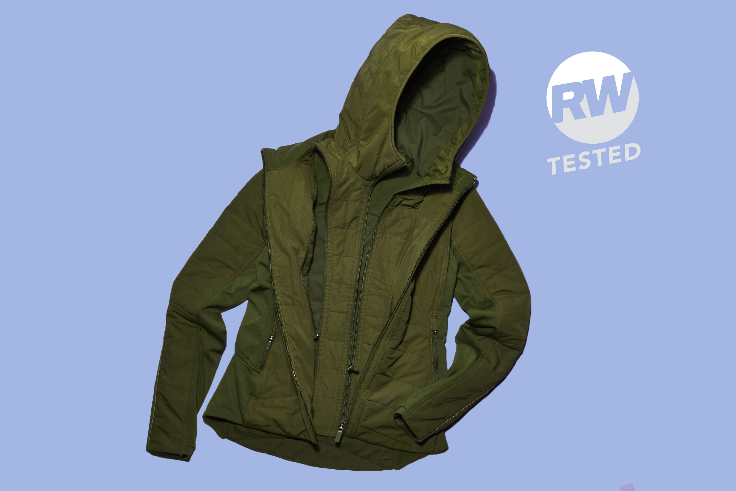 When the Weather Outside Is Frightful, This Lululemon Jacket Is So Delightful