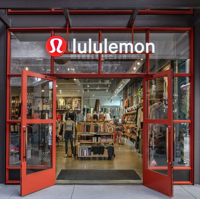 Lululemon Athletica store exterior, Ponce City Market...