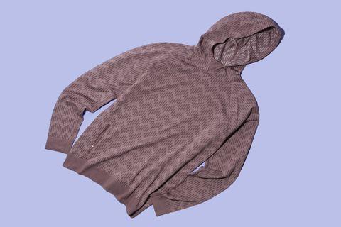 Clothing, Hood, Outerwear, Sleeve, Hoodie, Jacket, Sweater, Beige,