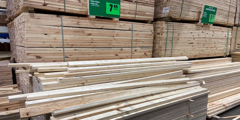 Lumber Is Ridiculously Expensive Right Now. Here's Why—and What You Should Do. thumbnail