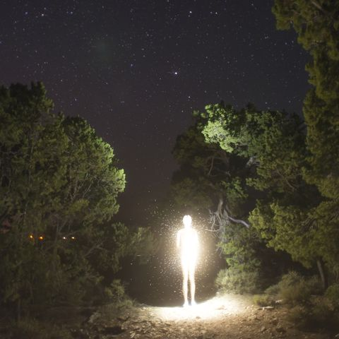 luminosity figure at night