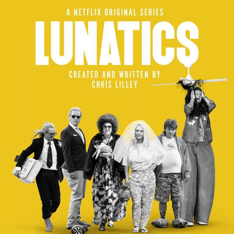 Lunatics' by Chris Lilley Comes to Netflix - 'Lunatics' Cast
