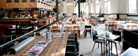 lunch amsterdam