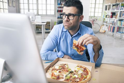 Lunch at your desk