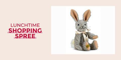 Rabbit, Rabbits and Hares, Domestic rabbit, Hare, Animal figure, Illustration,