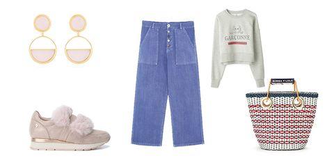 Denim, Jeans, Clothing, White, Blue, Footwear, Textile, Shoe, Pocket, Trousers,