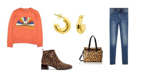 Clothing, Jeans, Footwear, Brown, Yellow, Denim, Fashion, Font, Shorts, Shoe,