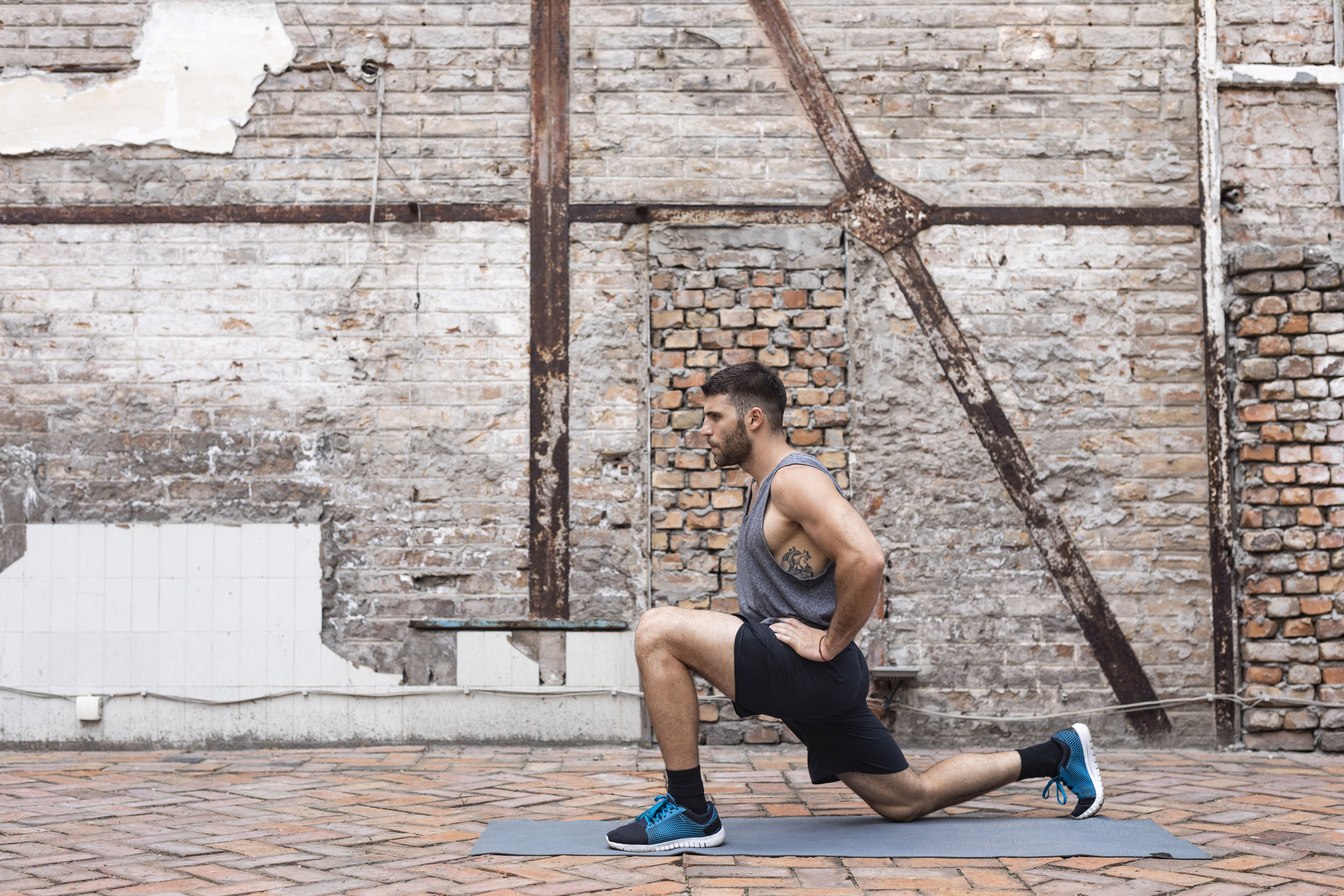 This Bodyweight Quad Burner Will Push Your Legs and Lungs For Full Body Gains At Home