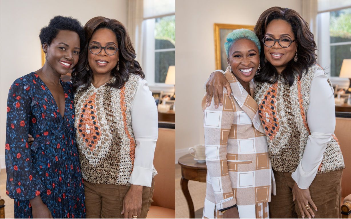 Oprah Gets Lupita Nyong'o and Cynthia Erivo to Open up in a New OWN Primetime Special