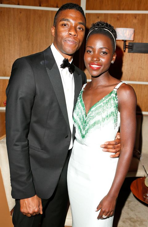 Lupita Nyong O Remembers Black Panther Co Star Chadwick Boseman