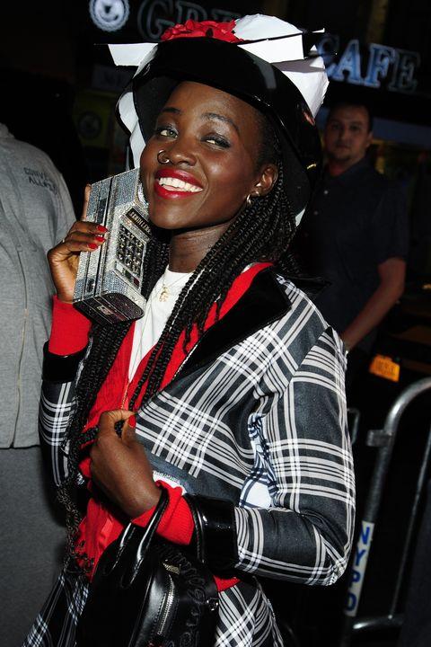 Lupita Nyong'o Clueless Dionne Halloween Costume