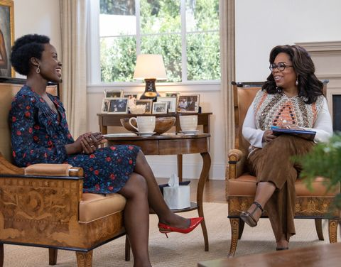 Image result for lupita and oprah