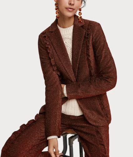 Clothing, Outerwear, Brown, Fashion model, Fashion, Fur, Coat, Overcoat, Sleeve, Formal wear,