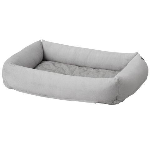 lurvig cama para perro, gris claro
