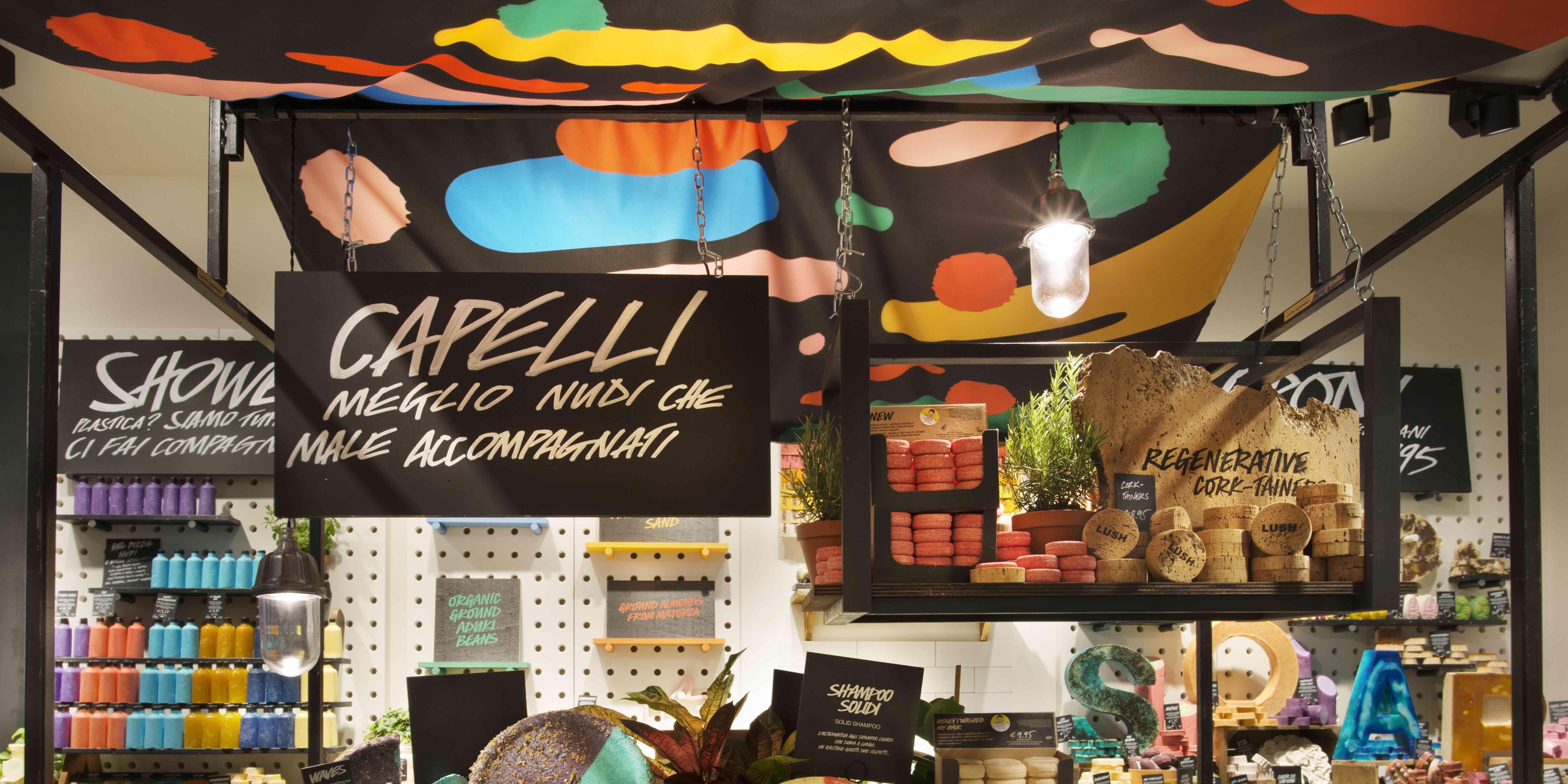 LUSH First Naked Shop UK