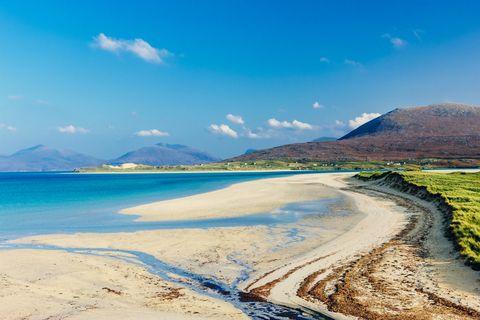 luskentyre beach landscape scotland