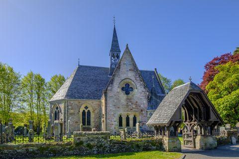 luss parish church, loch lomond and the trossachs national park   scotland