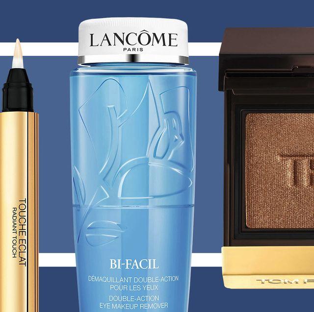 Product, Blue, Brown, Beauty, Cosmetics, Eye shadow, Eye, Material property, Beige, Liquid,
