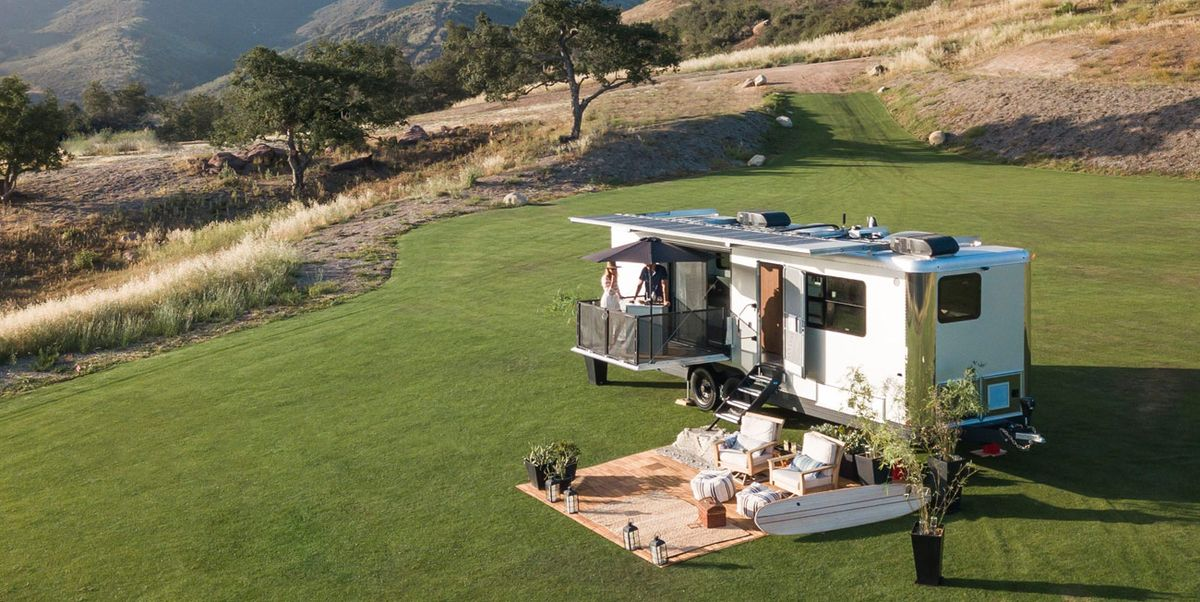 Take Glamping to New Heights with This Stunning Luxury Camping Trailer