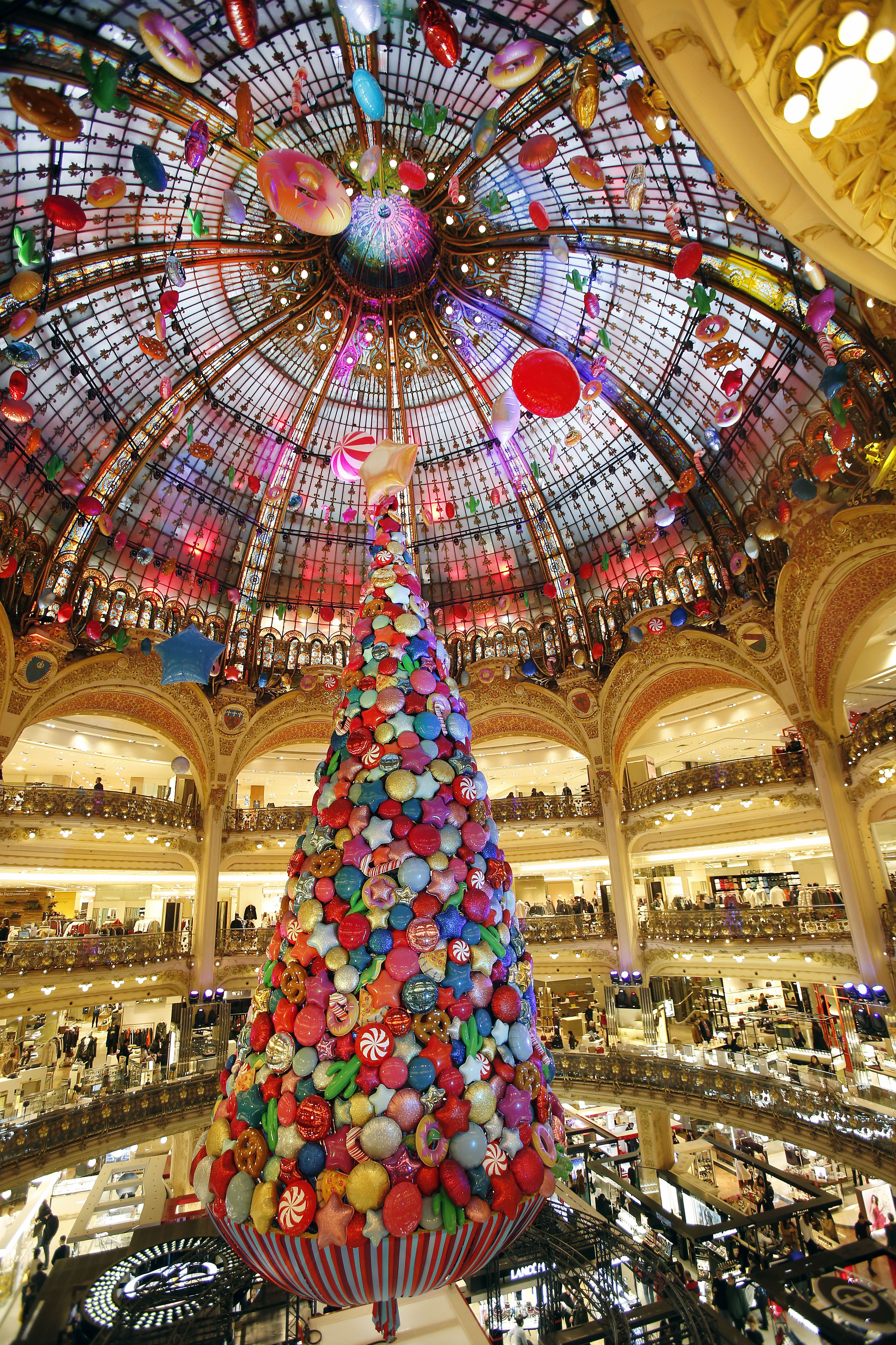 luxury department stores