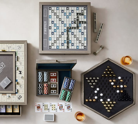 Stupendous Pottery Barns Luxury Wooden Board Games Are The New Home Uwap Interior Chair Design Uwaporg