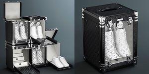 Louis Vuitton推出球鞋行李箱