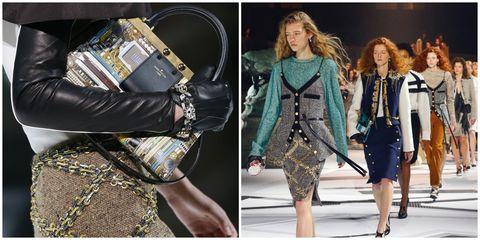 巴黎時裝週,LV 和范冰冰、楊丞琳穿越時空 羅浮宮內建宇宙戰艦 未來看女強人都這樣穿