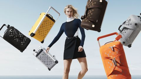 Fashion, Fashion model, Little black dress, Dress, Fashion design, Fashion accessory, Travel, Baggage, Handbag, Bag,