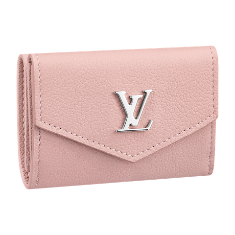 Wallet, Pink, Fashion accessory, Leather, Coin purse, Beige, Bag, Rectangle, Handbag, Brand,